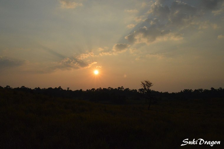 Sunset @ Khaoyai national park