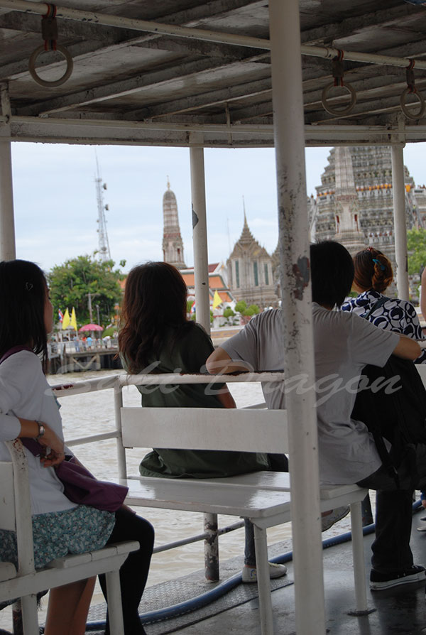 Shuttle Boat to Wat Arun