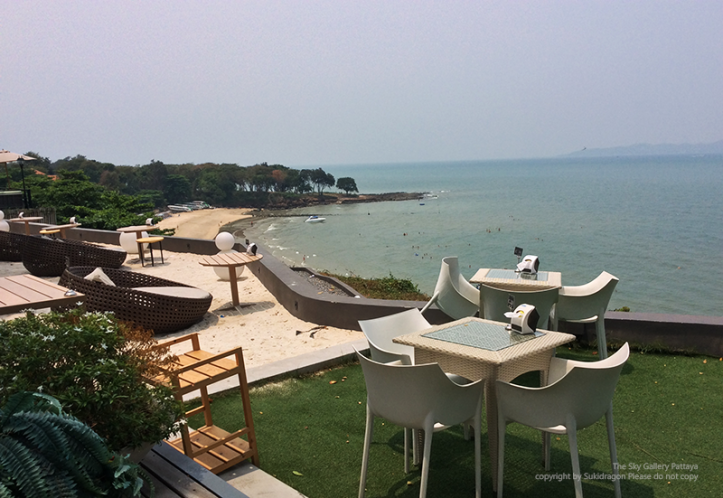 Cosy beach view @ the sky gallery Pattaya