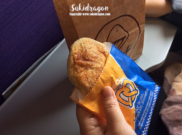 Snack on board Nok Air